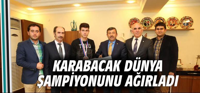 Karabacak Dünya Şampiyonunu Ağırladı