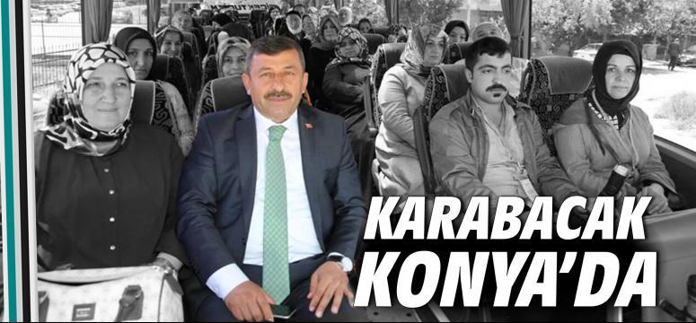 Karabacak, Konya'ya gitti!