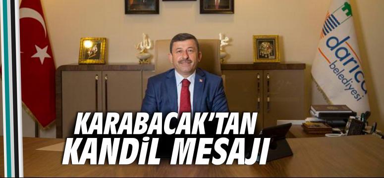Karabacak'tan Kandil Mesajı