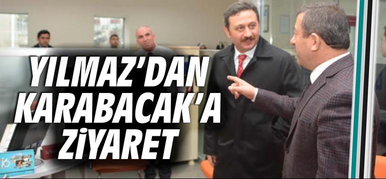 Milletvekili Yılmaz Karabacak'ı Ziyaret Etti
