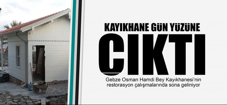 Osman Hamdi Bey'in kayıkhanesi gün yüzüne çıktı