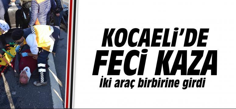 Kocaeli'de feci kaza