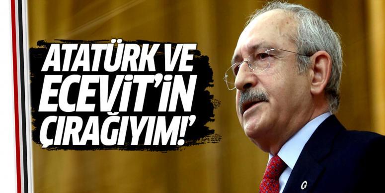 Ben Atatürk ile Ecevit'in çırağıyım