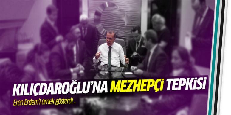 Kılıçdaroğlu'na mezhepçi tepkisi