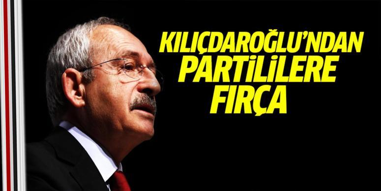 Kılıçdaroğlu'ndan partililere fırça