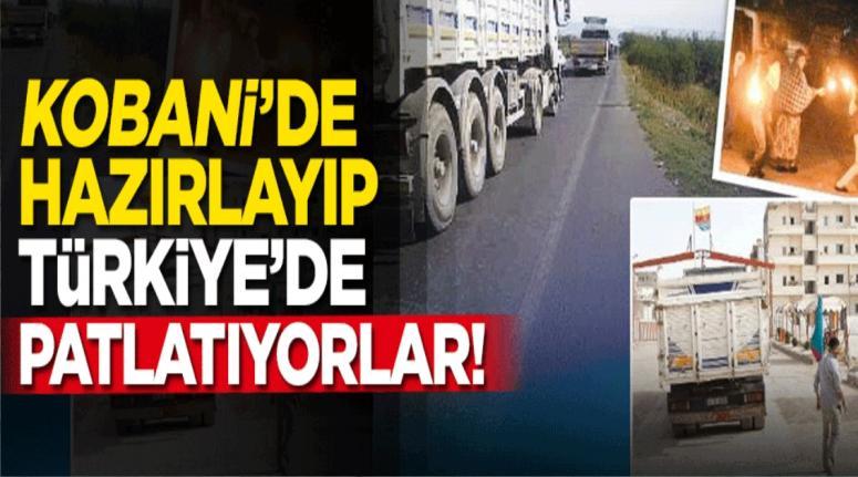 Kobani'de hazırlanıp Türkiye'de patlatılıyor