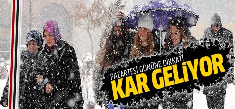 Kocaeli'de hava soğuyor kar bekleniyor