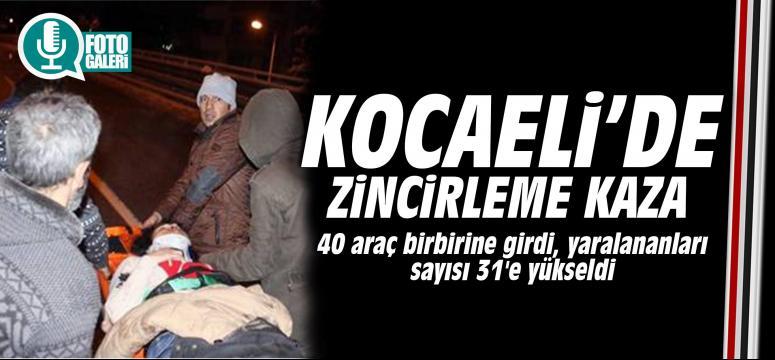 Kocaeli'de feci kaza:31 yaralı