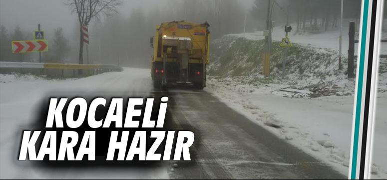 Karla mücadele ekipleri hazır kıta bekliyor