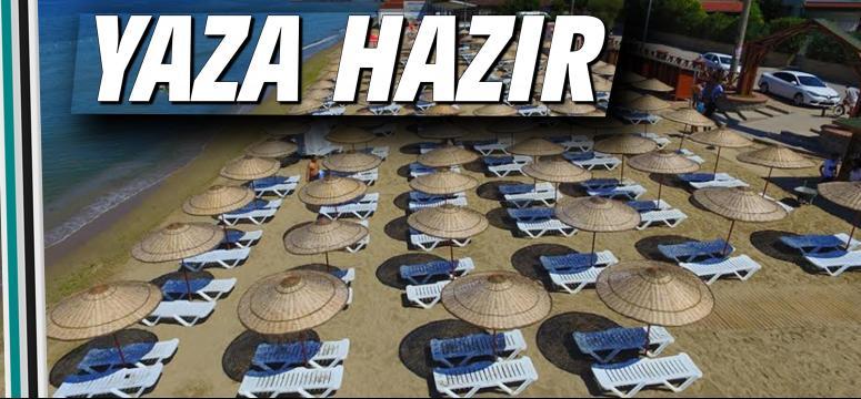 Kocaeli Plajları yaza hazır