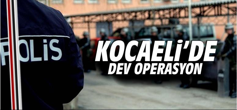 Kocaeli'de Selam Tevhid Soruşturması operasyonu