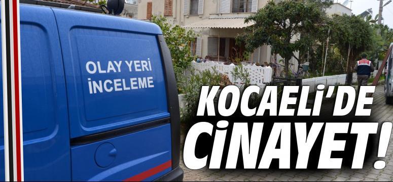 Kocaeli'de cinayet