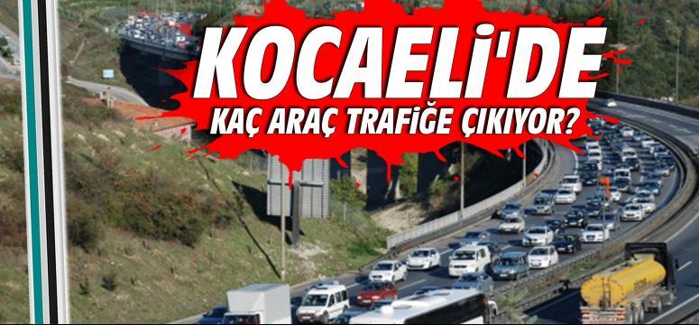 Kocaeli'de kaç araç trafiğe çıkıyor?