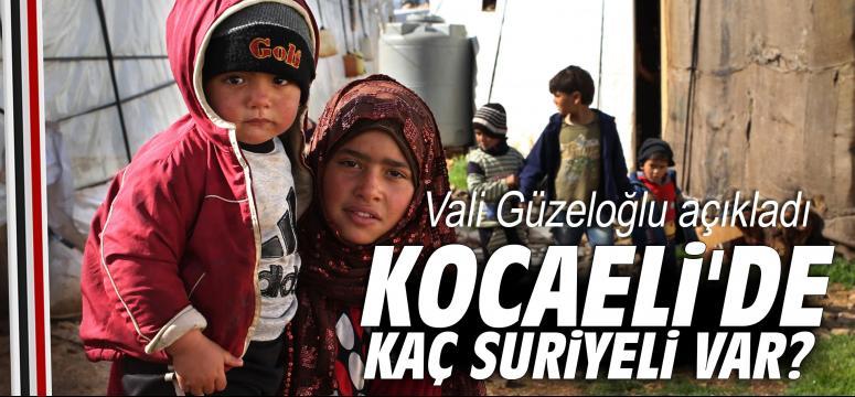 Kocaeli'de kaç Suriyeli var?