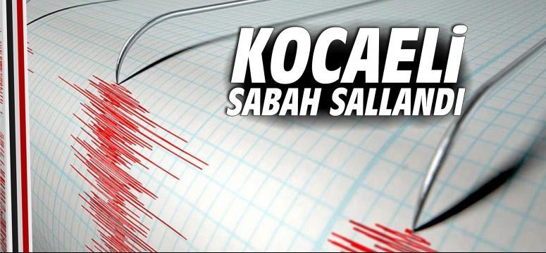 Kocaeli'de sabaha karşı deprem
