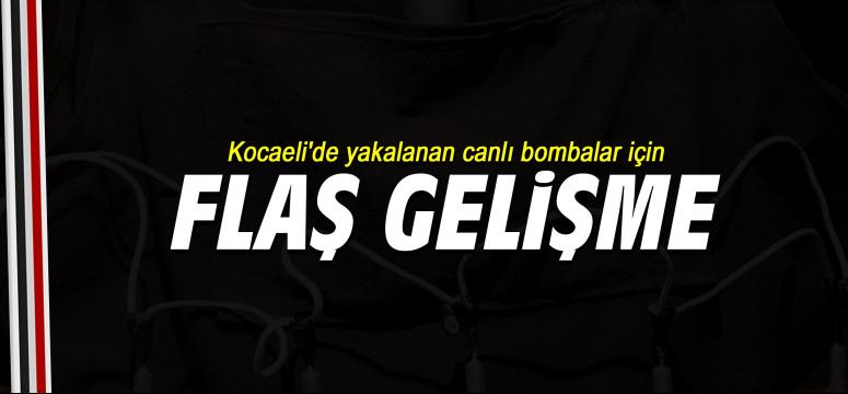 Kocaeli'de yakalanan canlı bombalar...