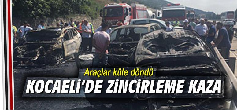 Kocaeli'de zincirleme kaza