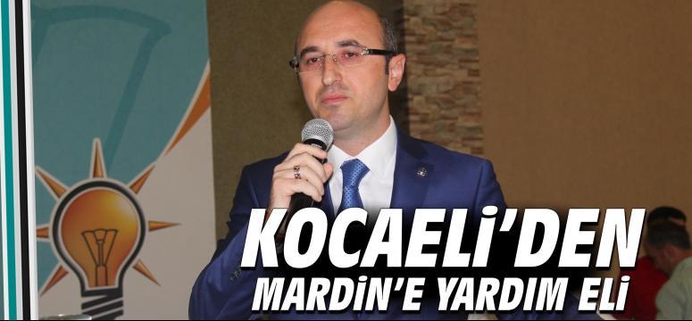 Kocaeli'den Mardin'e yardım eli