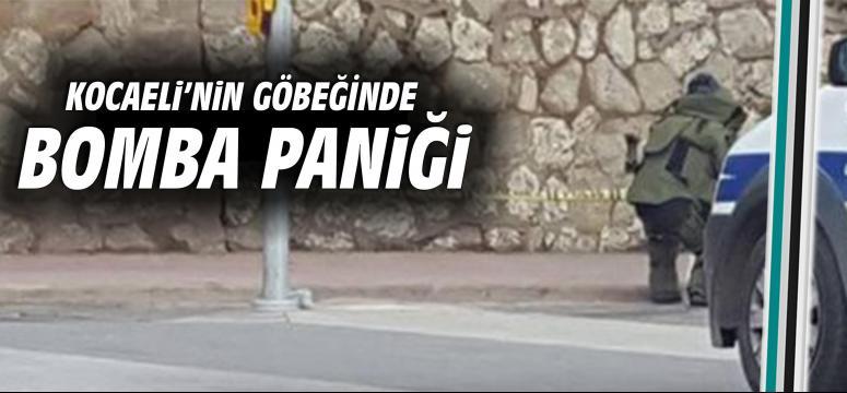 Kocaeli'nin göbeğinde bomba paniği