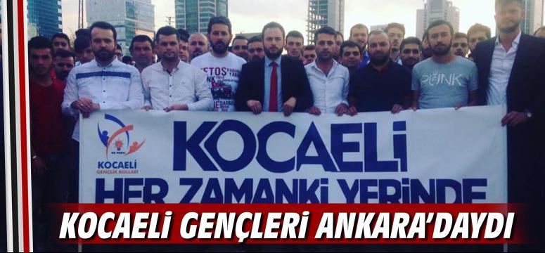 Kocaeli gençleri Ankara'daydı