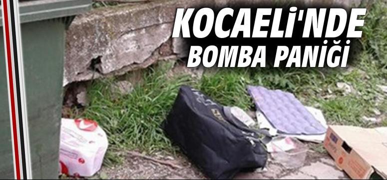 Kocaeli'nde bomba paniği