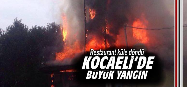 Kocaeli'de büyük yangın!