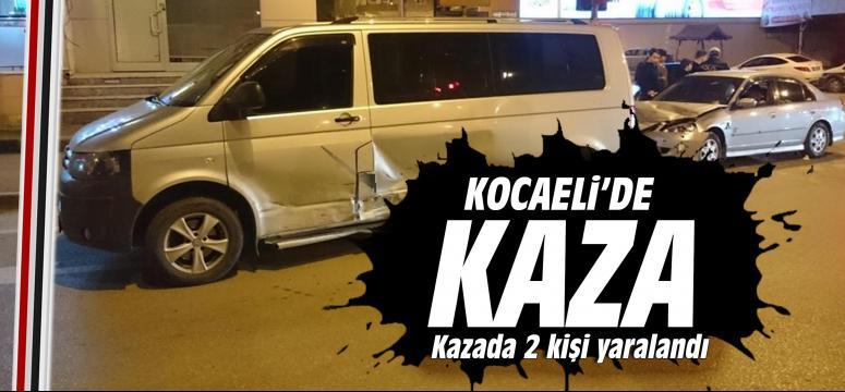 Kocaeli'de feci kaza, 2 yaralı