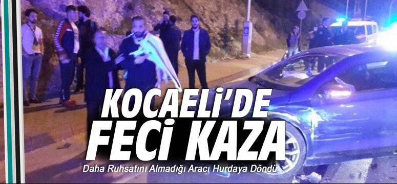 Kocaeli'de kaza