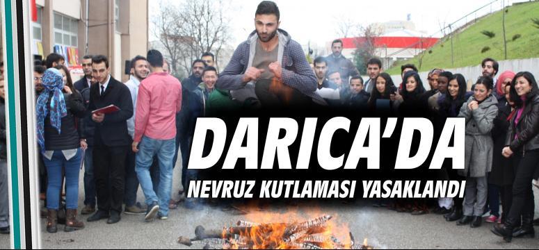 Darıca'da Nevruz kutlaması yasaklandı