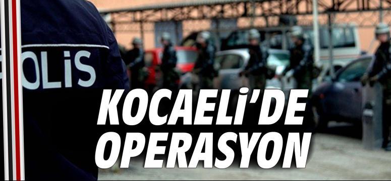 Kocaeli'de PKK/KCK operasyonu