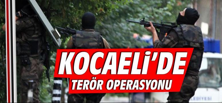 İlimizde terör operasyonu