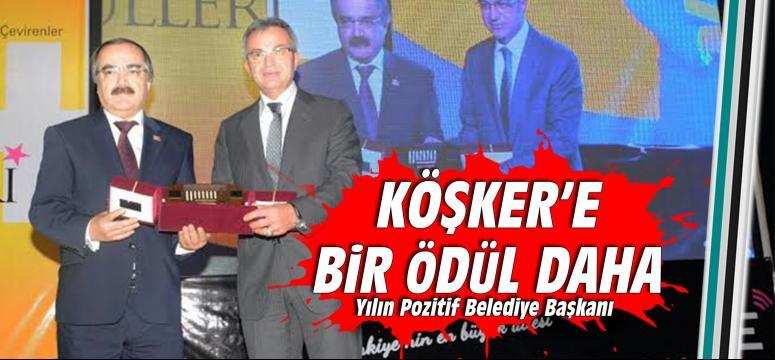 Köşker, Yılın Pozitif Belediye Başkanı