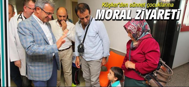 Sünnet Çocuklarına Moral Ziyareti