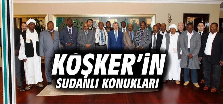 Köşker'in Sudanlı konukları