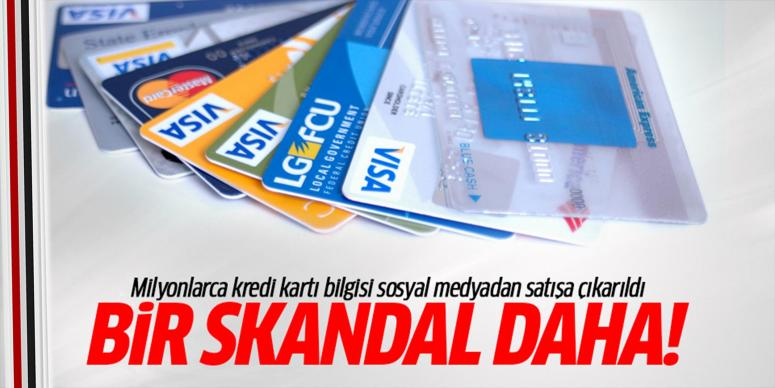 Kredi kartı bilgileri satışa çıkarıldı!
