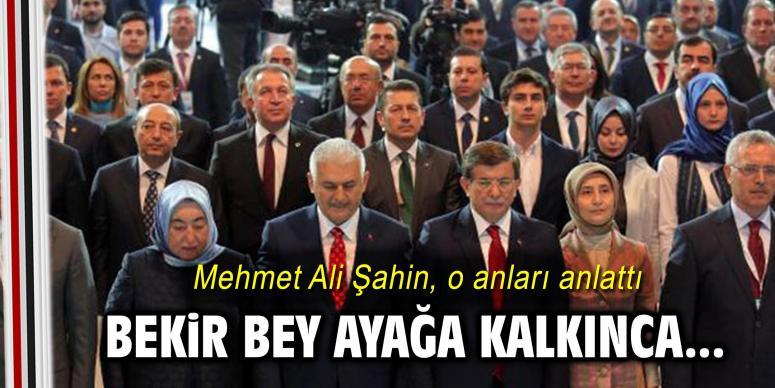 Mehmet Ali Şahin, o anları anlattı