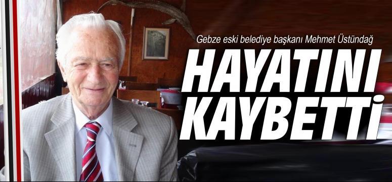 Mehmet Üstündağ vefat etti