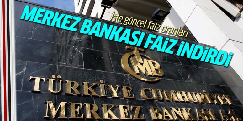 Merkez Bankası faiz'de değişikliğe gitti
