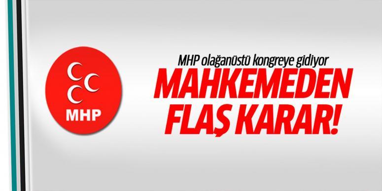 MHP olağanüstü kongreye gidiyor
