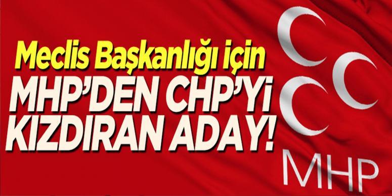 İşte MHP'nin Meclis Başkan adayı!