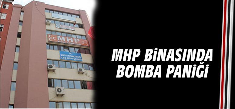 Mhp Binasında Bomba Paniği