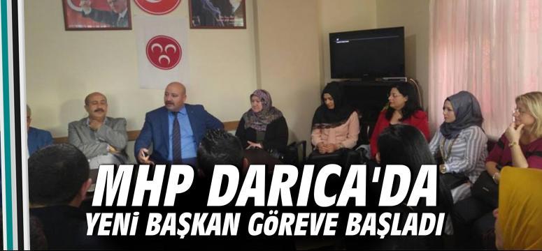 Mhp Darıca'da yeni başkan start verdi