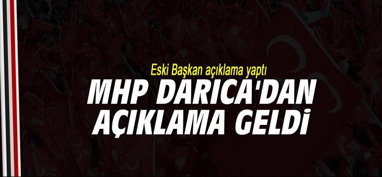 MHP Darıca'dan açıklama geldi