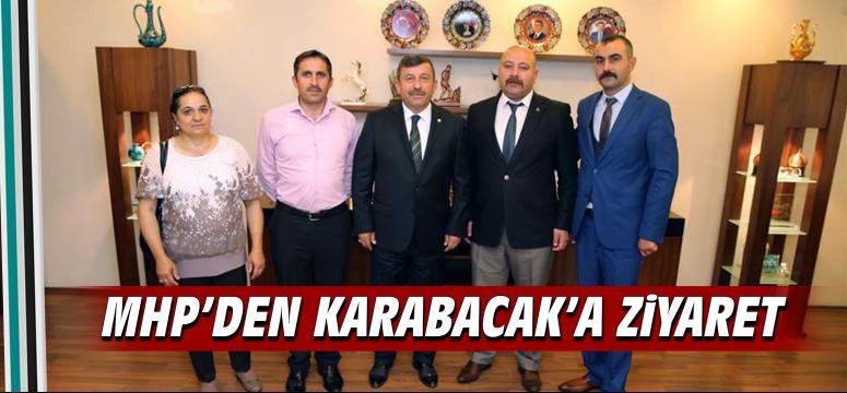 Mhp'den Karabacak'a Ziyaret