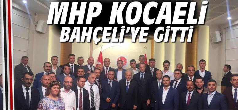 MHP Kocaeli Teşkilatları Bahçeli'ye Gitti