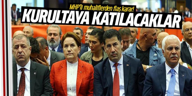 MHP'li muhaliflerden flaş karar