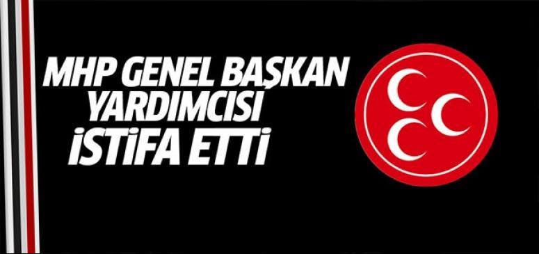 MHP'li Topcu istifa etti