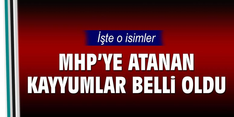 MHP'nin başına atanan kayyımlar belli oldu!