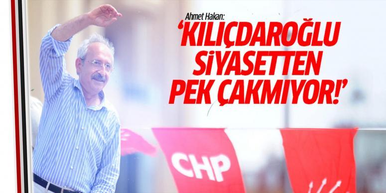 Kılıçdaroğlu siyasetten pek çakmıyor