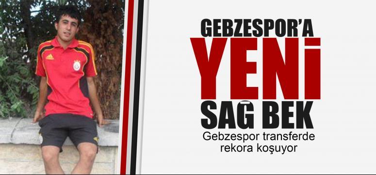 Gebzespor'da yeni transfer